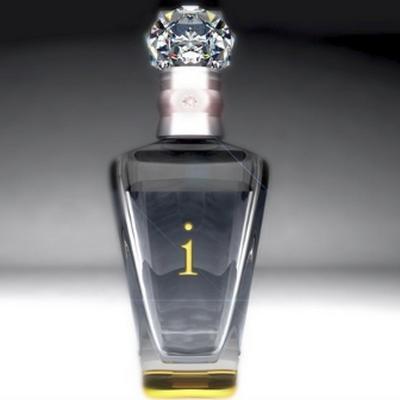 Предметная визуализация бутылки водки Imperial