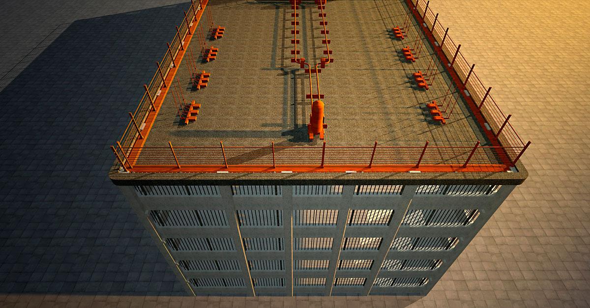 визуализация производственных зданий
