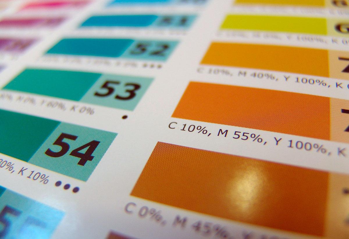 цветовые палитры RAL