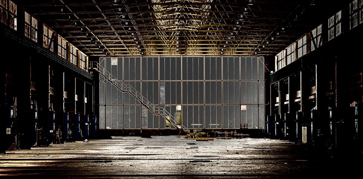 3d визуализация завода изнутри