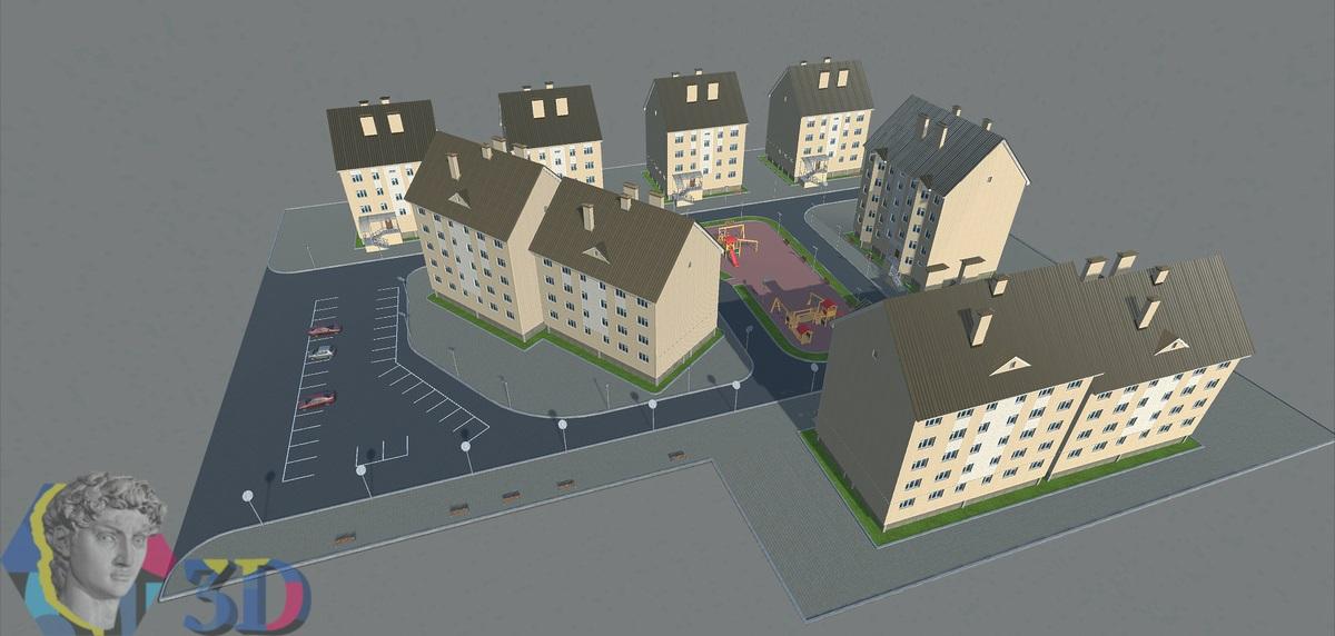 архитектурное 3d моделирование