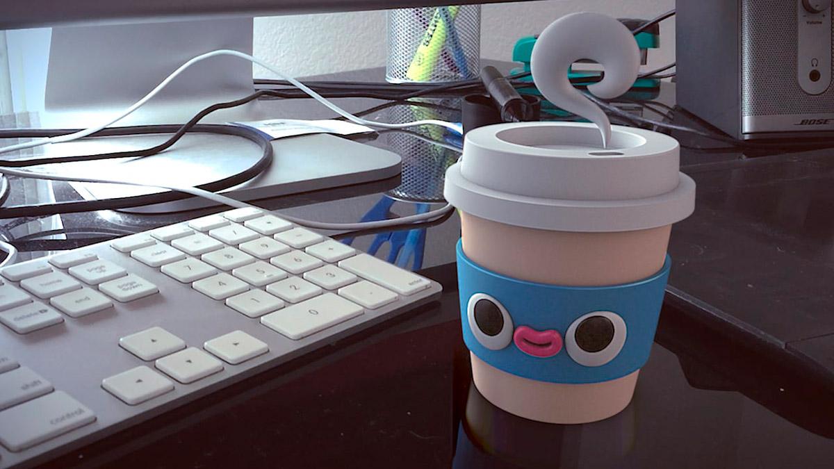 Современный дизайн игровых персонажей в стиле 3D