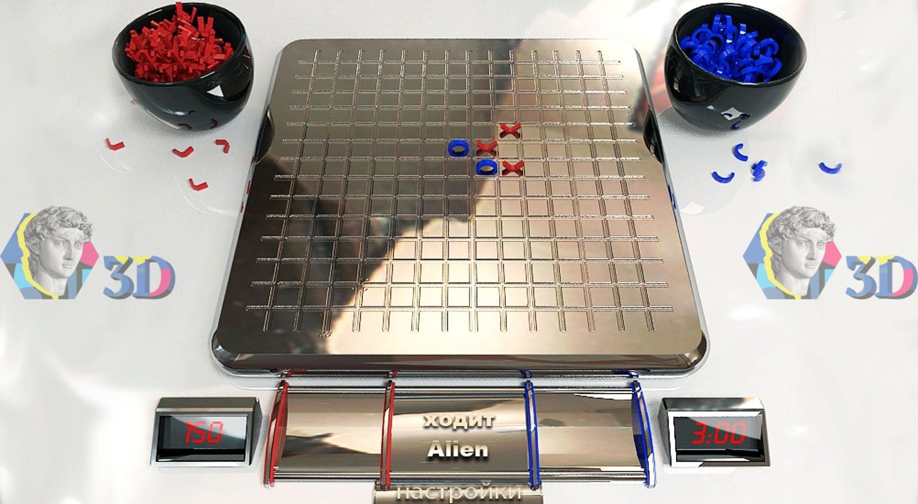 Игры «крестики-нолики» и «точки»