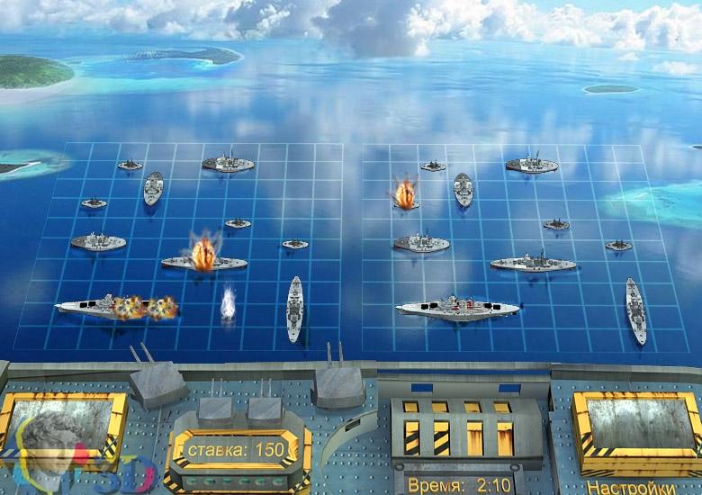 компьютерная игра в морской бой
