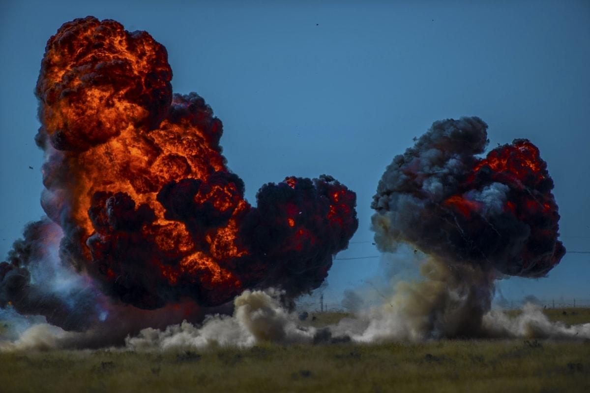 3d моделирование и визуализация взрывов