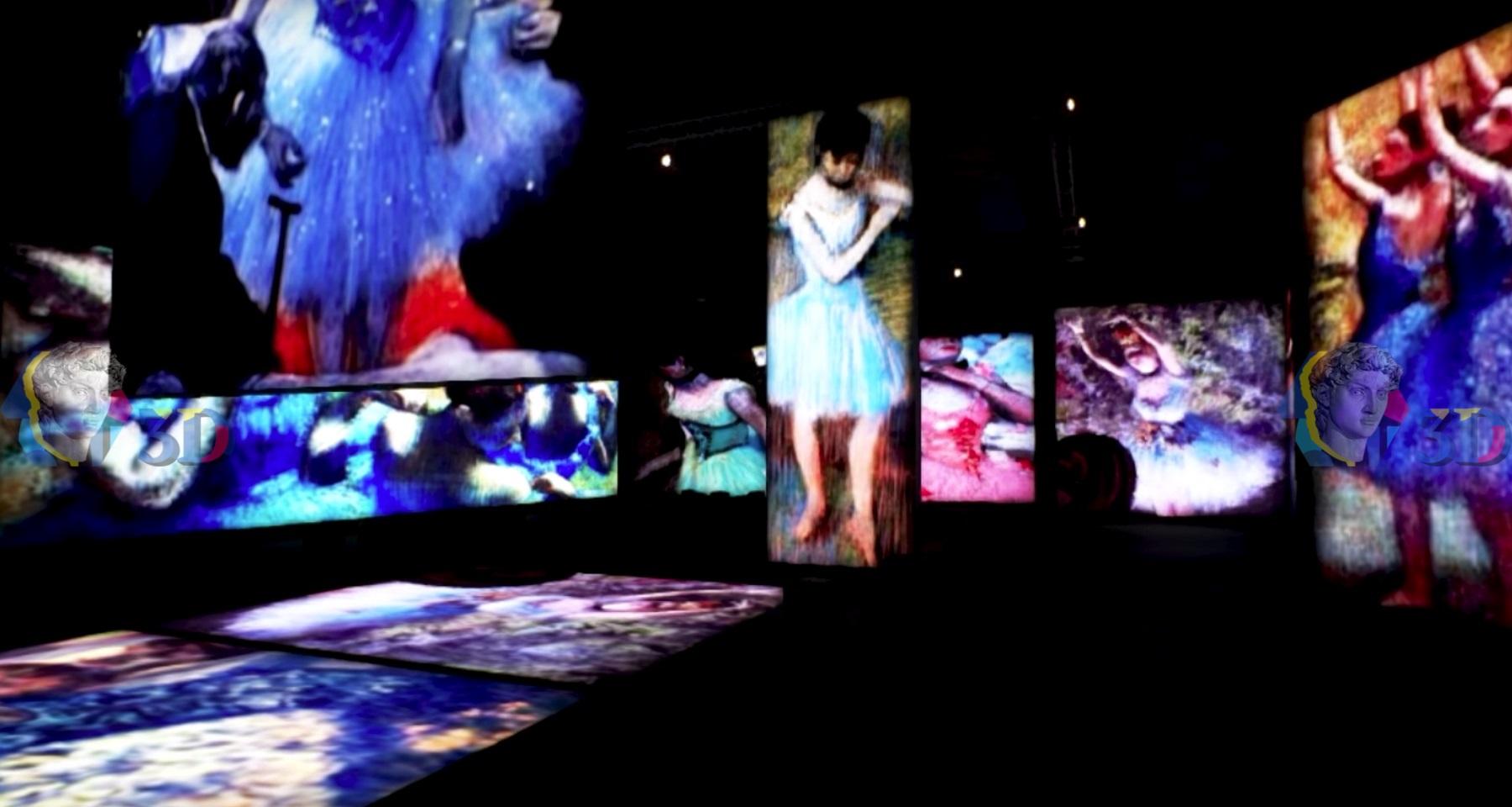 Мультимедийная выставка «Живые полотна»