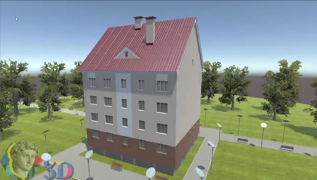 архитектурная 3д визуализация