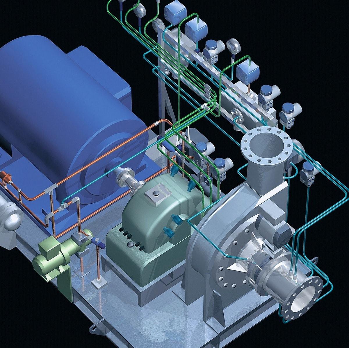 3д модель механизма