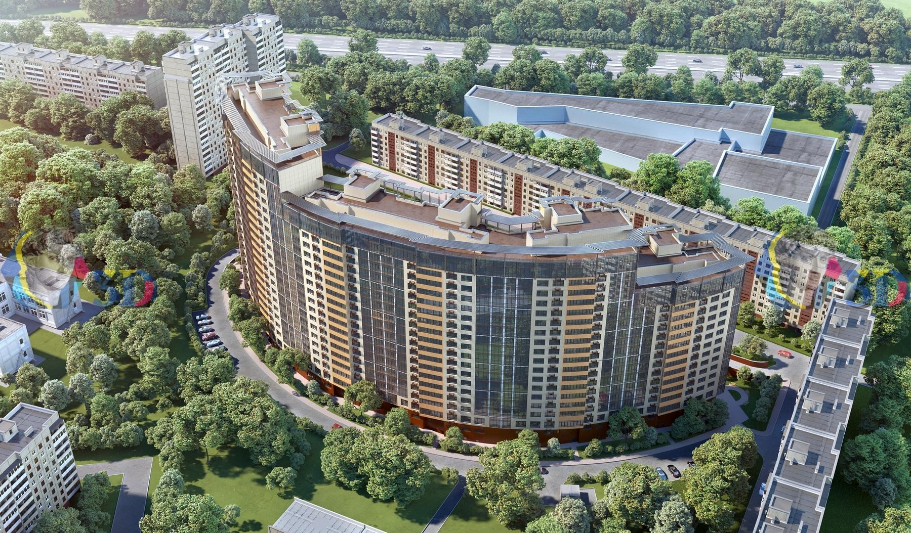 Жилой комплекс, квартал Давыдково