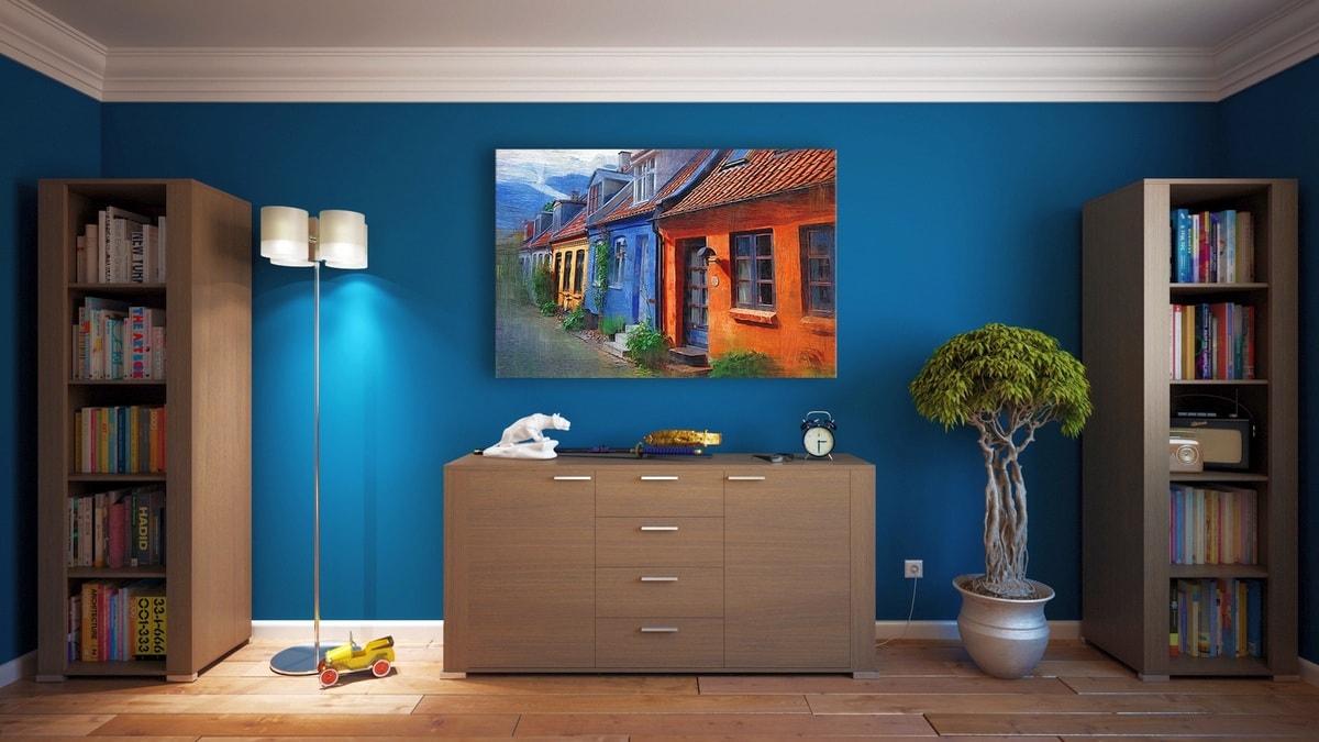 3d визуализация интерьера комнаты