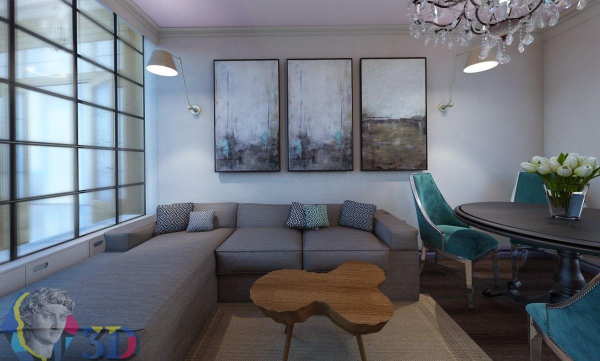 заказать визуализацию интерьера квартиры