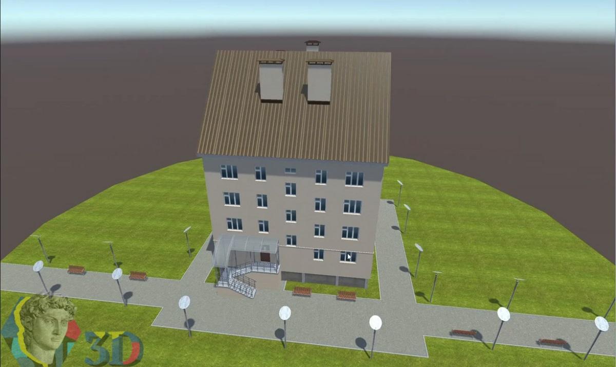 архитектурное 3d моделирование в 3ds max