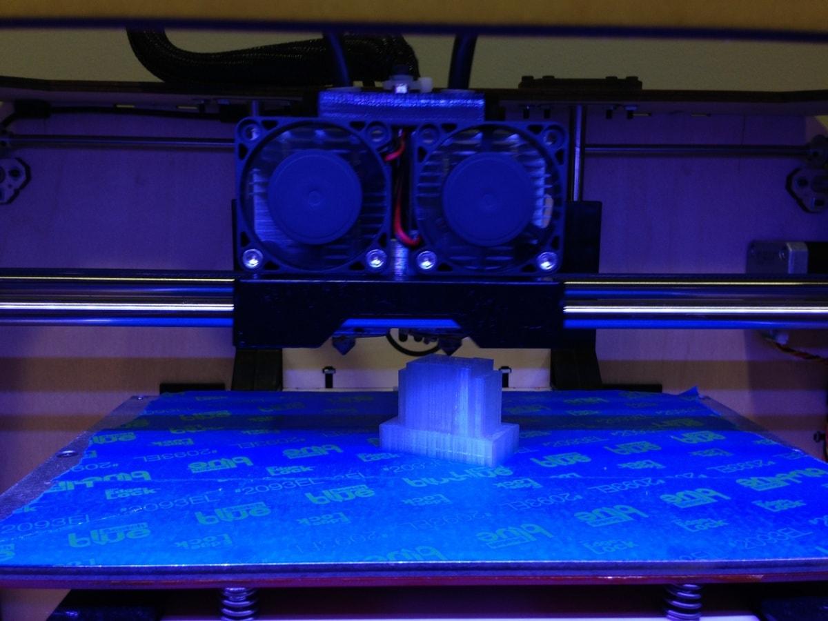 процесс 3d печати