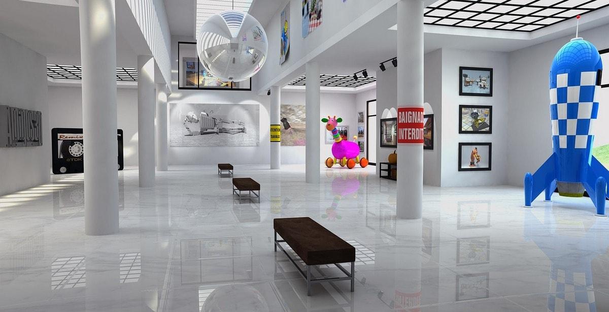 стоимость 3d визуализации для музея